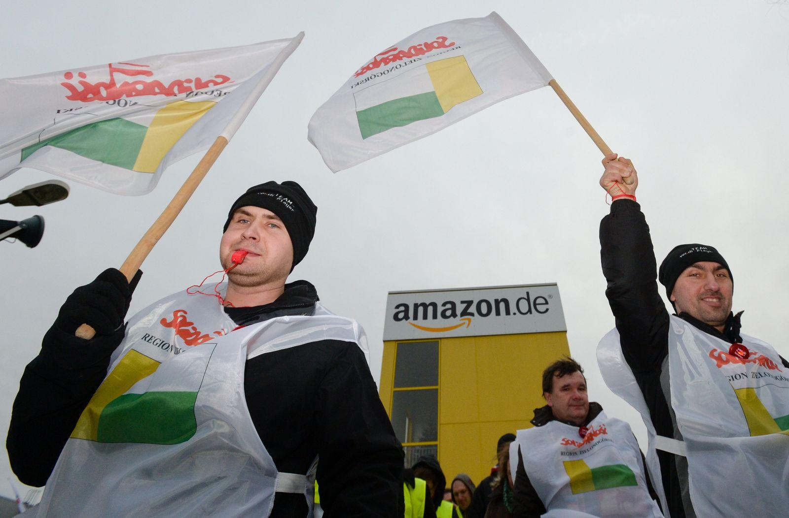 Streiks bei Amazon
