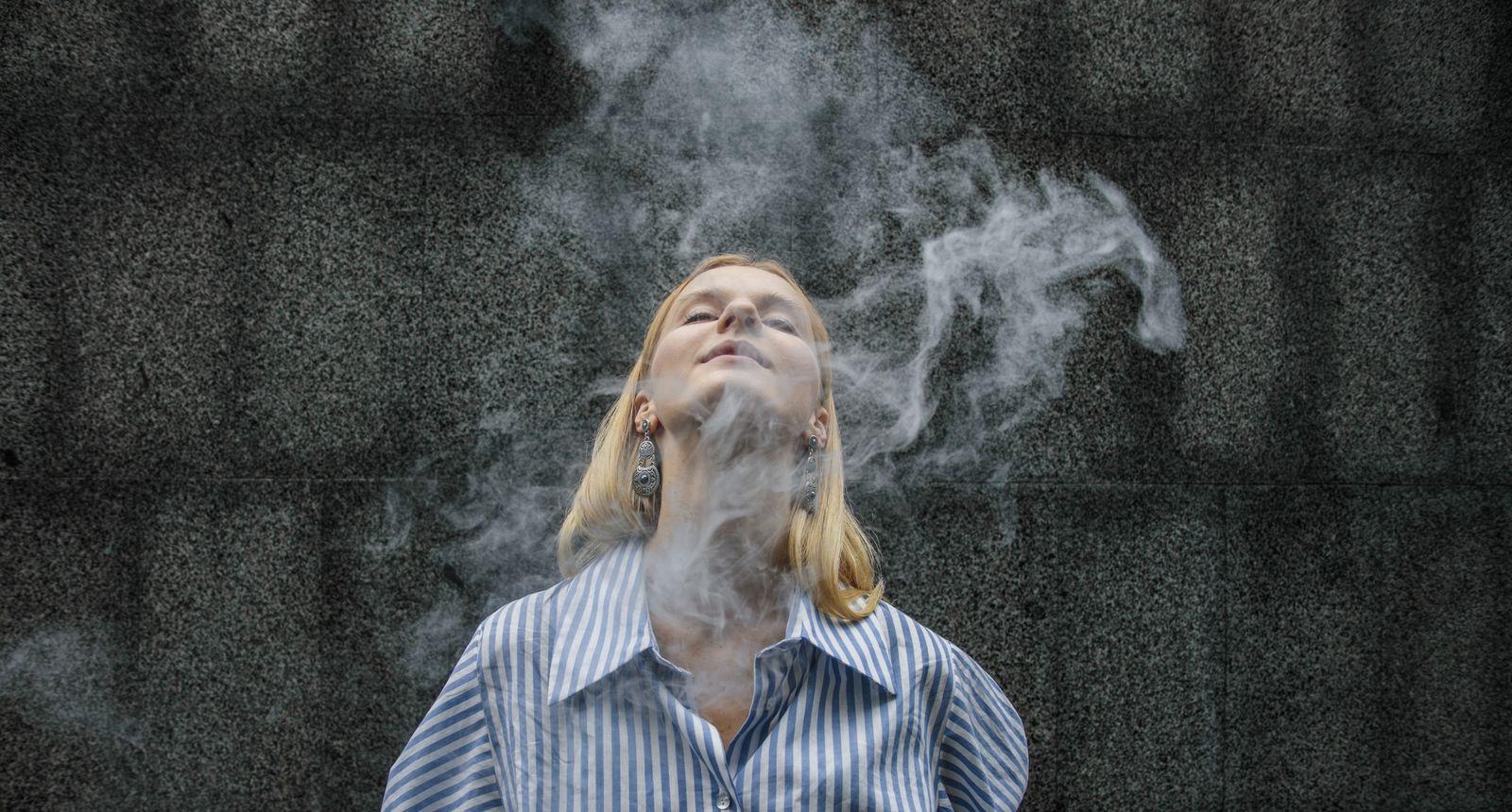 EINMALIGE VERWENDUNG Rauchen
