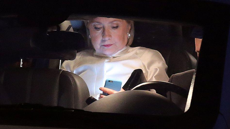 Präsidentschaftskandidatin Hillary Clinton (September 2016)