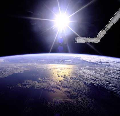"""Erde aus der Perspektive der Raumfähre """"Endeavour"""": Idee der flachen Erde stammt aus der Neuzeit"""