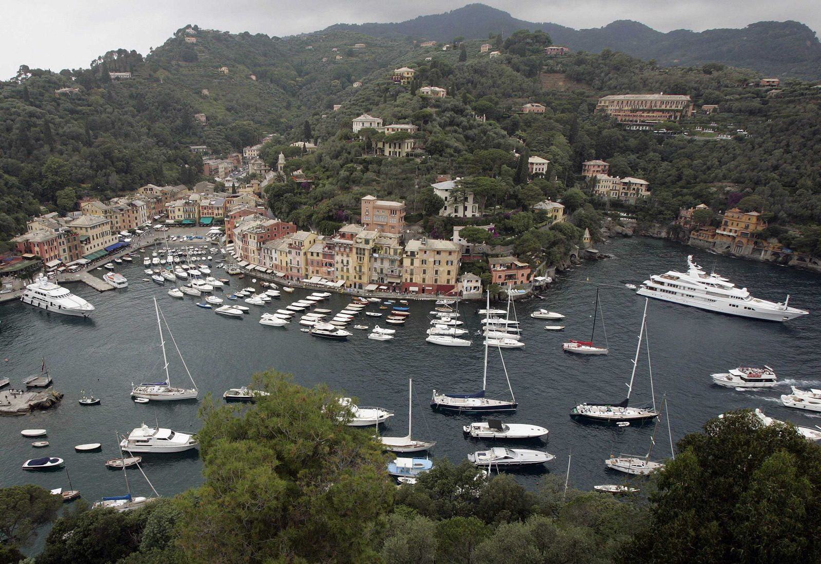 Portofino / Italien / Yachthafen