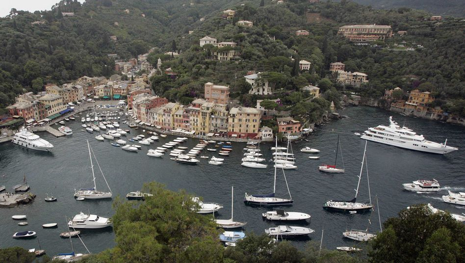 Yachten vor Portofino: Mit einem Jahreseinkommen von 20.000 Euro zum Luxus-Boot