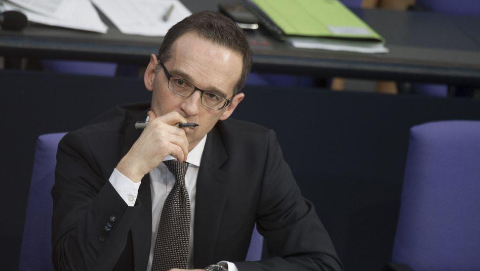 Justizminister Heiko Maas: Absurde Konsequenzen