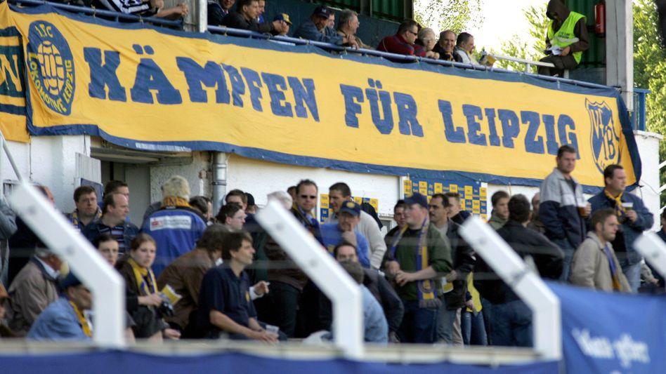 Auch bei Lok Leipzig sieht man die Fanarbeit in Gefahr