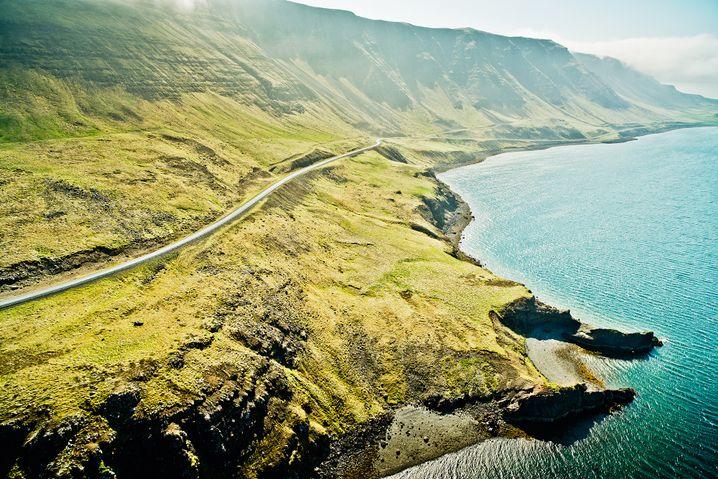 Filmreife Kulisse in Island