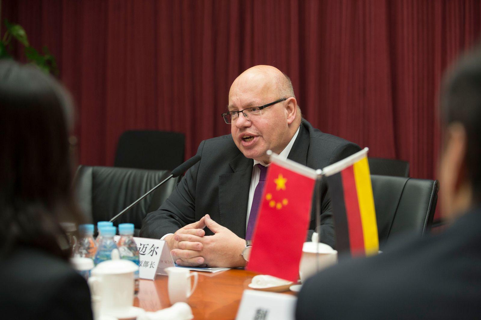 Altmaier in Peking