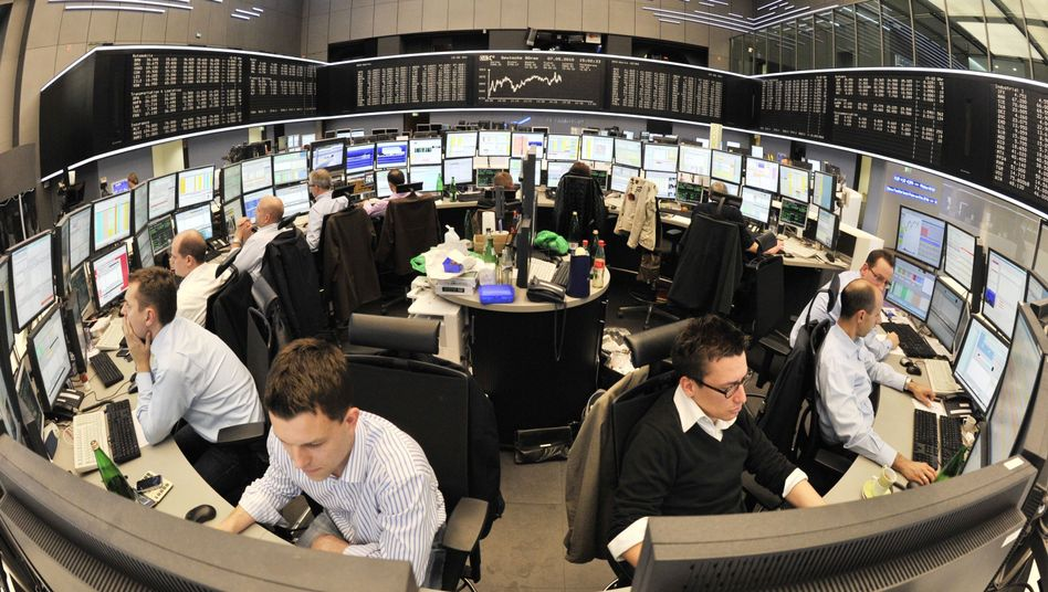 Börse in Frankfurt: Es geht wieder rund