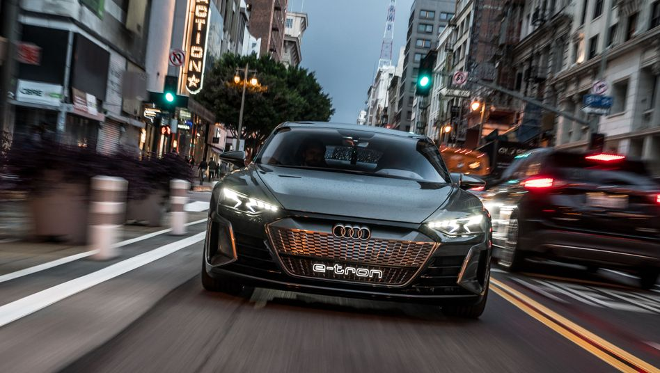 Produktbild Elektroauto Audi e-Tron GT