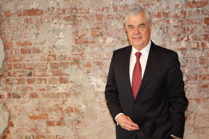 Frank Horch, Senator für Wirtschaft, Verkehr und Innovation der Hansestadt Hamburg