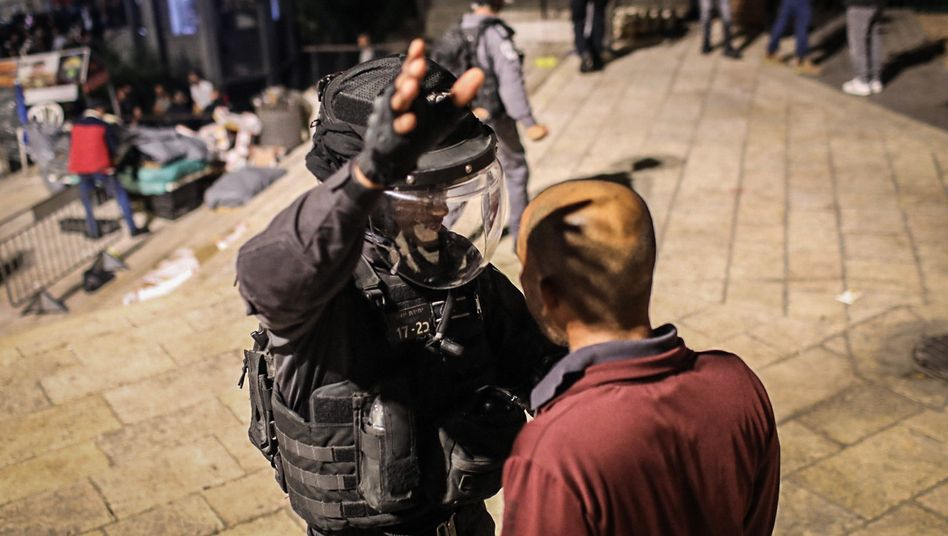 Protest in Jerusalem gegen drohende israelische Zwangsräumungen für palästinensische Familien