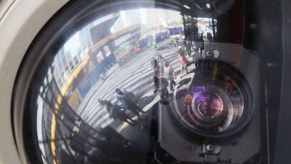 Überwachungskamera in New York: Software soll verdächtige Aktivitäten erkennen