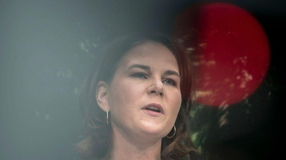 Annalena Baerbock spricht beim Parteitag der Grünen