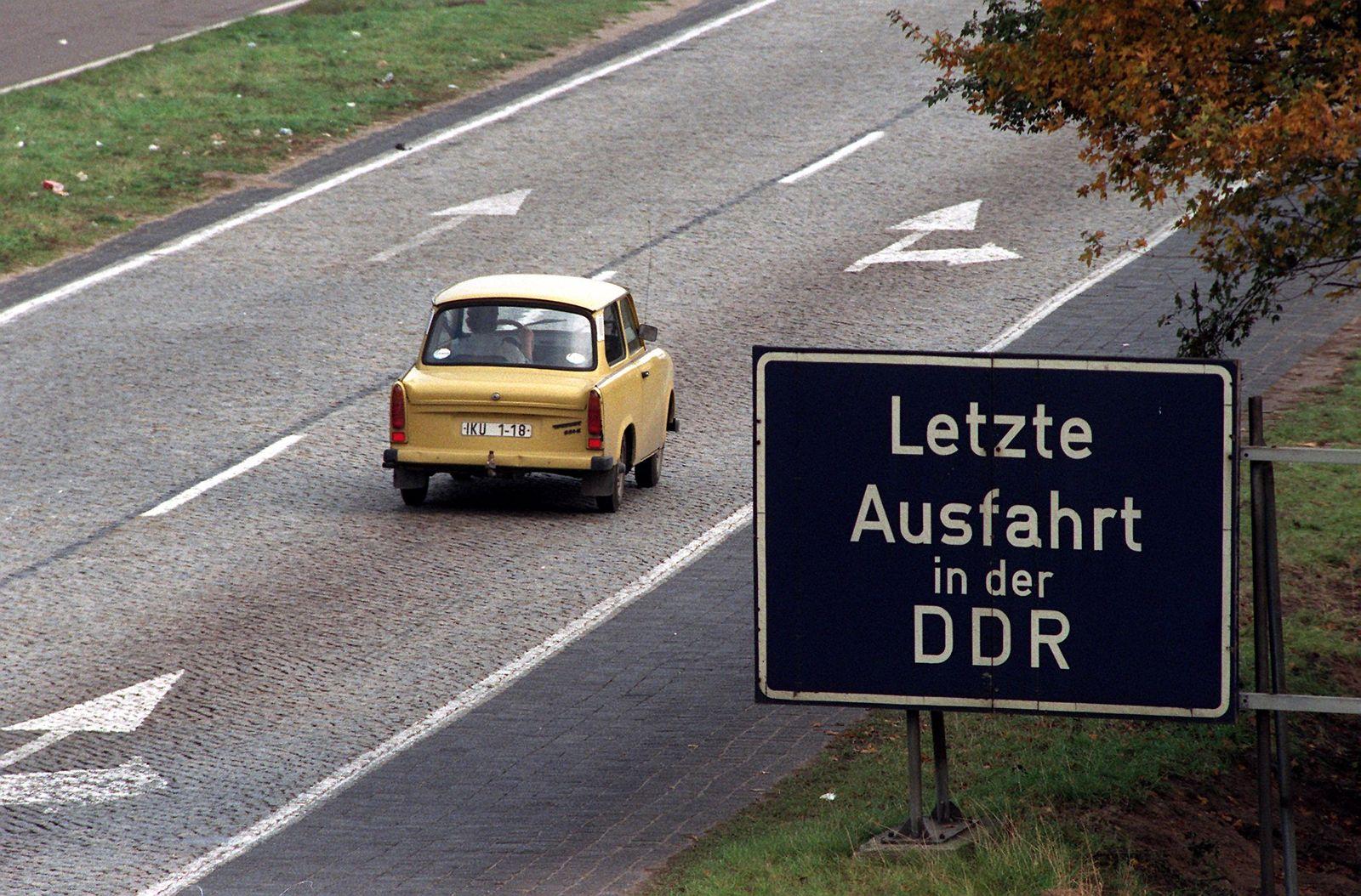 30 Jahre Mauerfall / Ostdeutsche Industrie