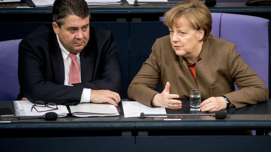 Gabriel, Merkel: Streit über Umgang mit Iran