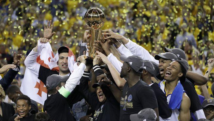 NBA-Champion Golden State Warriors: High Five