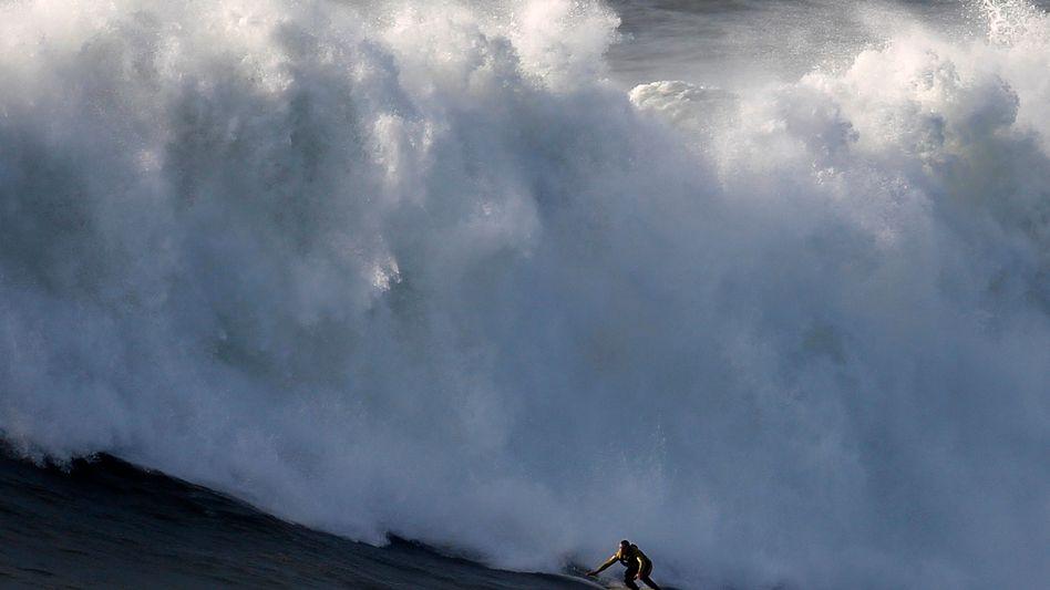 """Monsterwellen-Surfer McNamara: """"Es hat sich wahnsinnig gut angefühlt"""""""