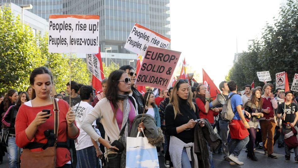 Globale Proteste gegen Banken: 99 Prozent blieben zu Hause