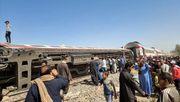 Mindestens 32 Tote nach Zugkollision in Ägypten