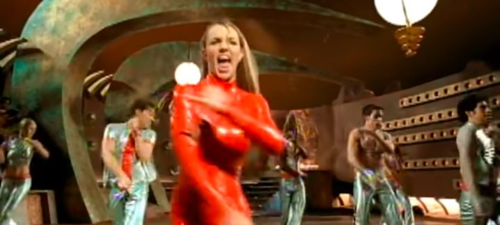"Millenniums-Star Britney Spears in ""Oops!... I Did It Again"" (2000): Im roten Latex auf dem Mars"