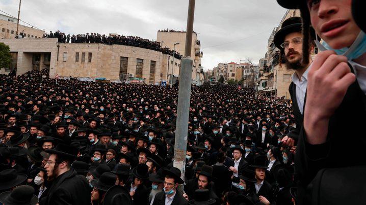 Beisetzung in Jerusalem