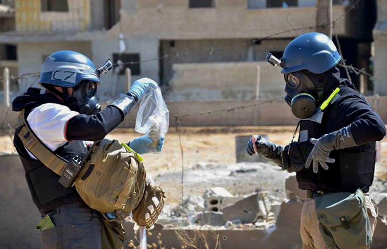 Syrien / Chemiewaffen-Inspektoren