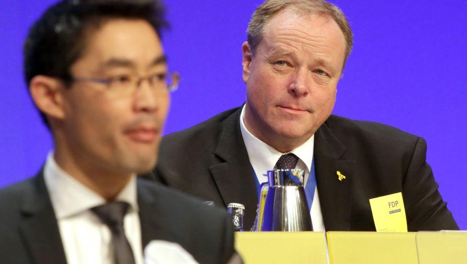 FDP-Bundesparteitag: Liberale strafen Niebel ab