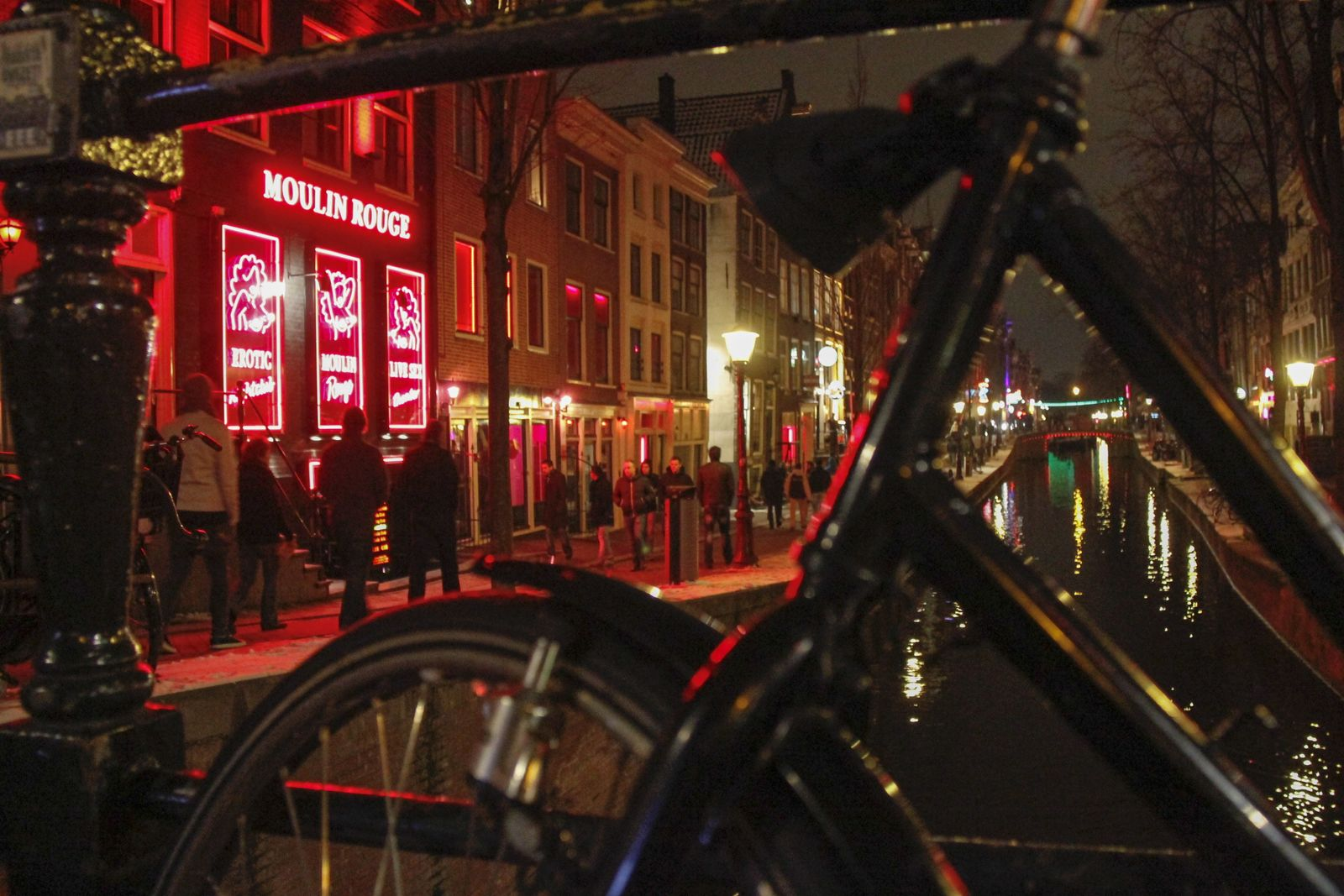 EINMALIGE VERWENDUNG The Moulin Rouge / Amsterdam