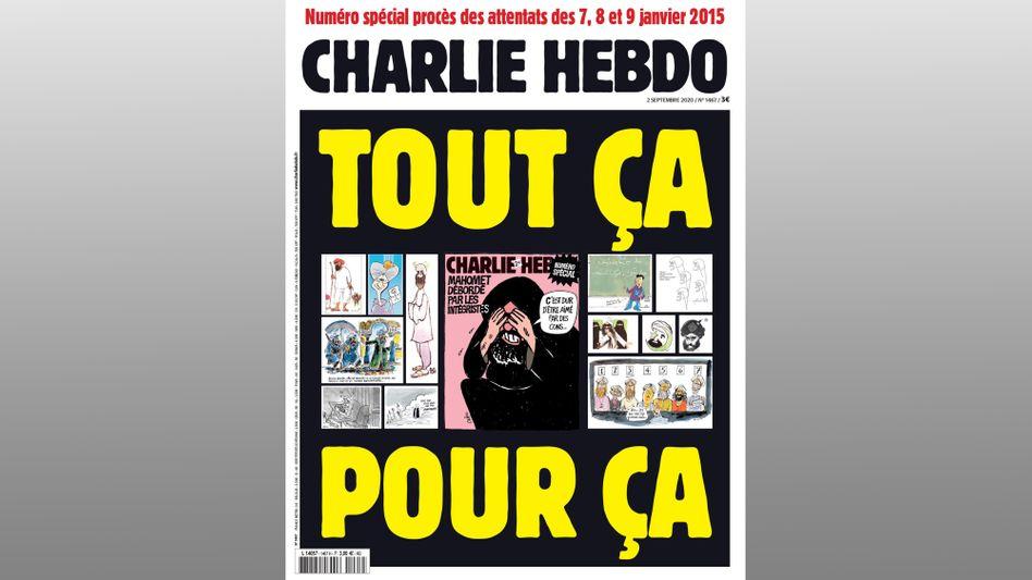 """Cover der Sonderausgabe von """"Charlie Hebdo"""""""