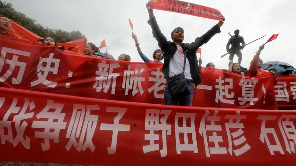 Anti-japanischer Protest in Chengdu: Künftig will China Ausschreitungen stoppen