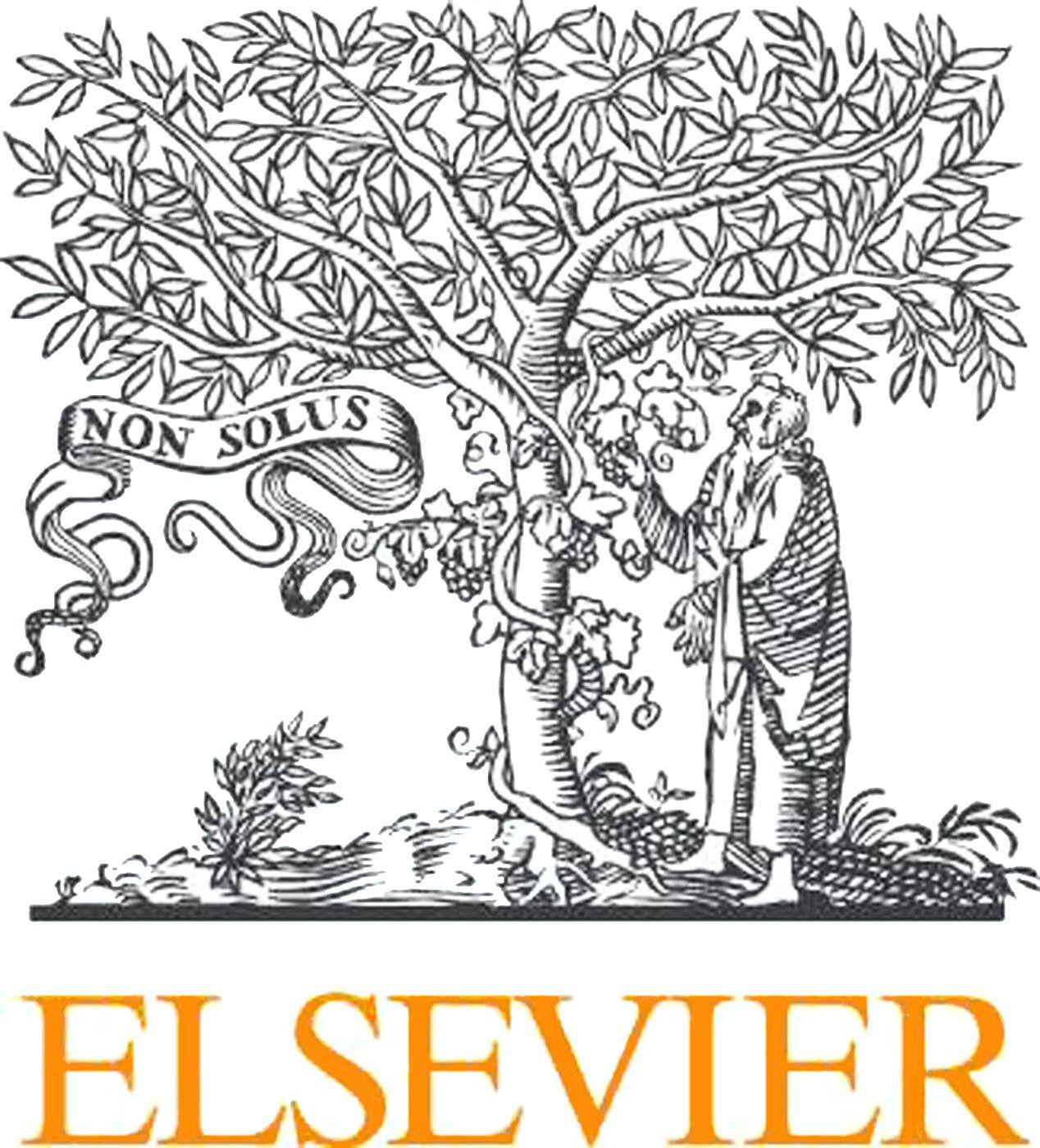 EINMALIGE VERWENDUNG Elsevier-Verlag Boykott LOGO