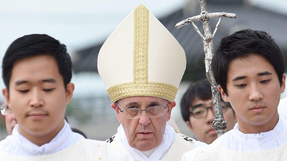 """Papst Franziskus (Archivbild) zum Ersten Weltkrieg: """"Ein sinnloses Massaker"""""""