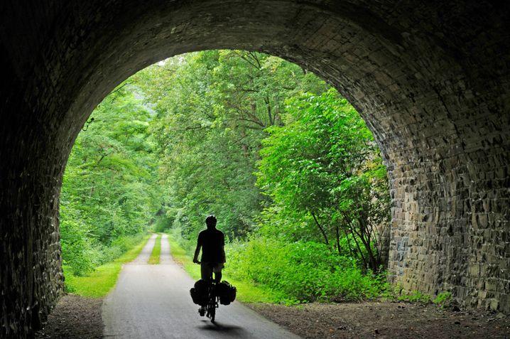 Unterwegs auf dem Ahr-Radweg