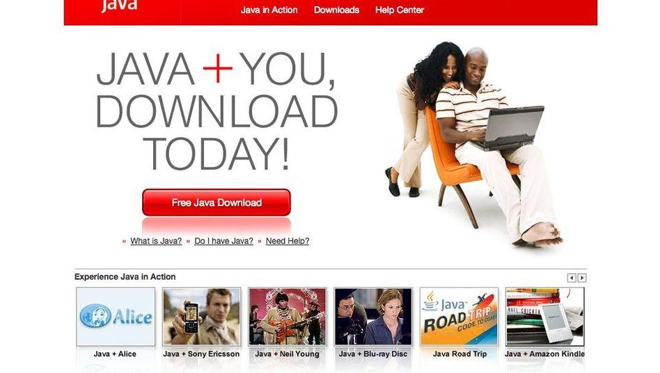 Java-Webseite von 2010: Oracle nimmt das Java-Plug-in aus dem Programm