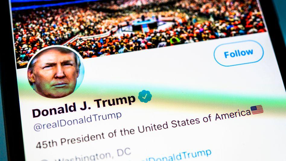 Donald Trump auf Twitter: Achtung, Gewaltverherrlichung