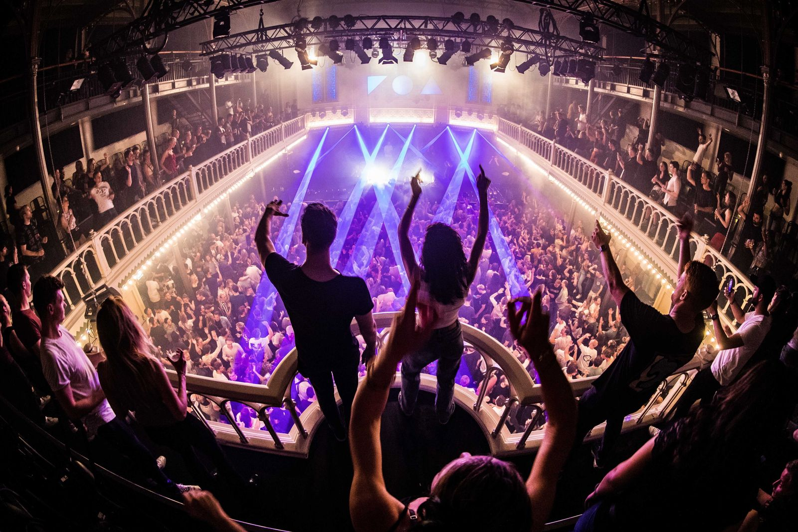 Music venue Paradiso in Amsterdam reopens at full capacity