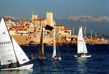Auch wer sich nicht um Kunst schert, hat an der Côte d'Azur seine Freude
