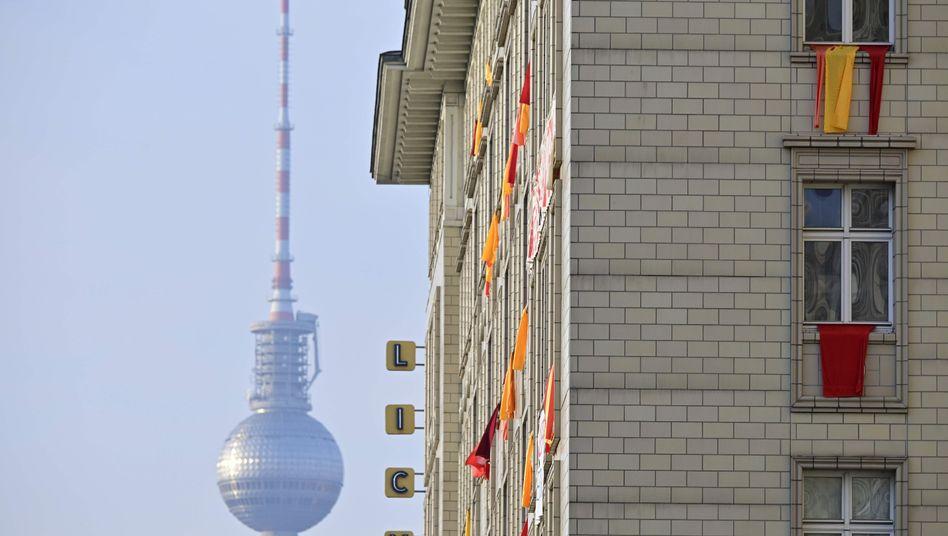 Umstrittene Bauten in der Berliner Karl-Marx-Allee: Nachfrage stärker als das Angebot