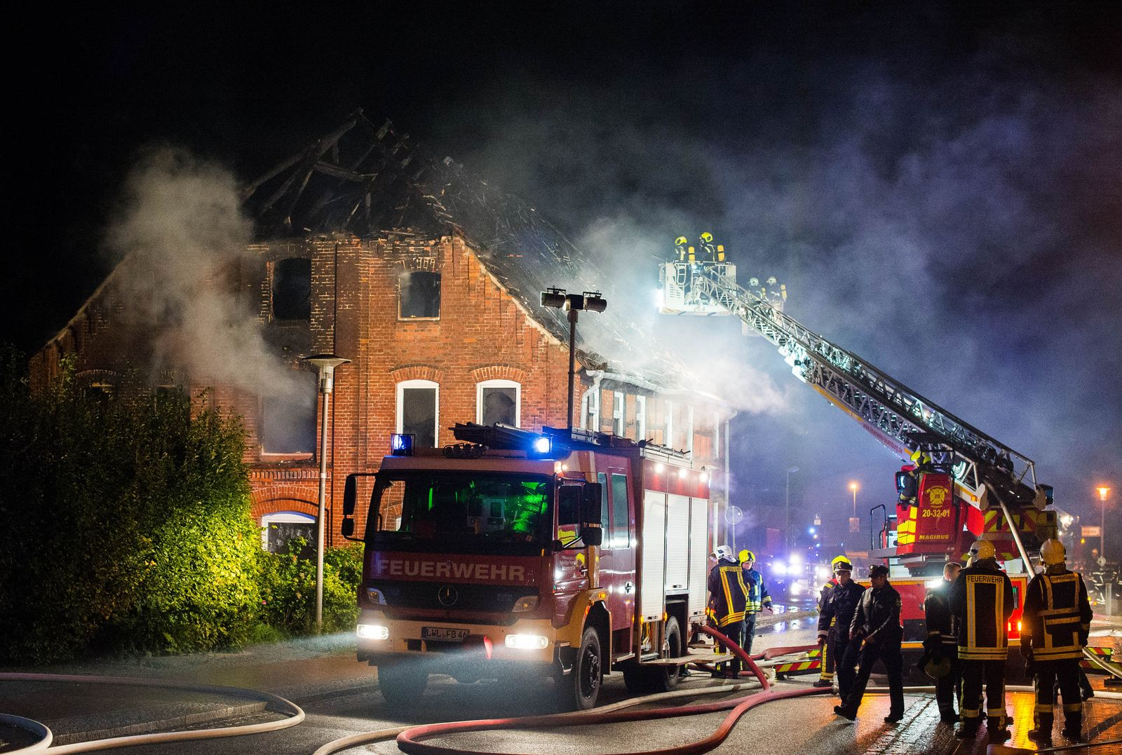 Geplante Flüchtlingsunterkunft abgebrannt