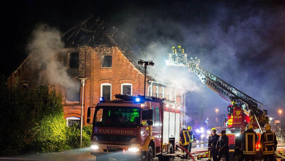 Brand in Boizenburg: Keine Verletzten