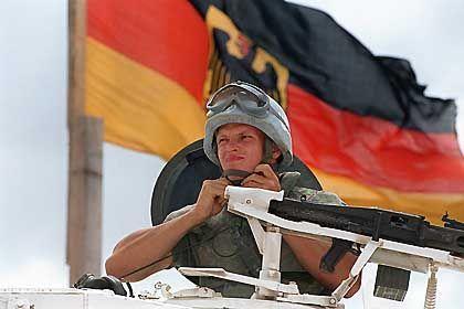 Die deutsche Fuchspanzer-Einheit in Kuweit wird möglicherweise ausgebaut