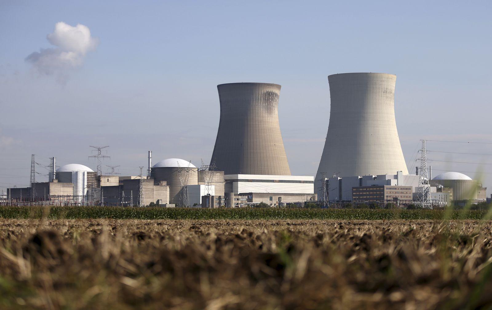 Belgien/ AKW/ Atomkraftwerk/ Doel