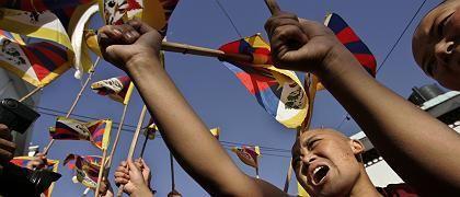 """Exil-Tibeter in Dharamsala: """"Ich bete, dass die Proteste friedlich bleiben"""""""