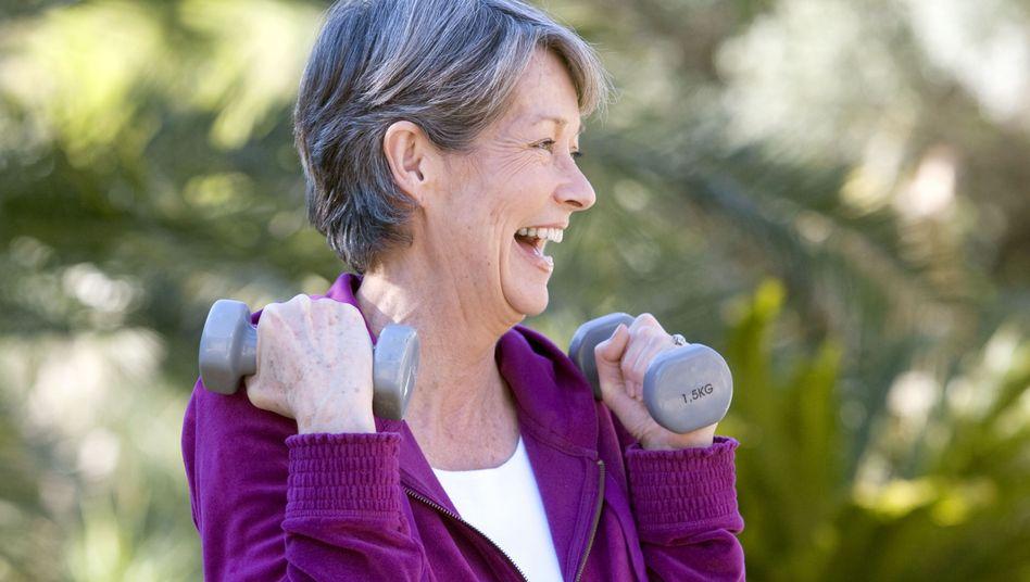 Spaß beim Training: Gesund altern mit Sport