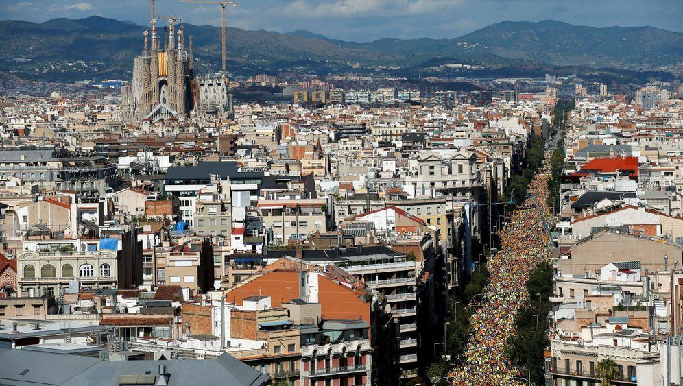 Katalanischer Nationalfeiertag: Ab auf die Avenidas!
