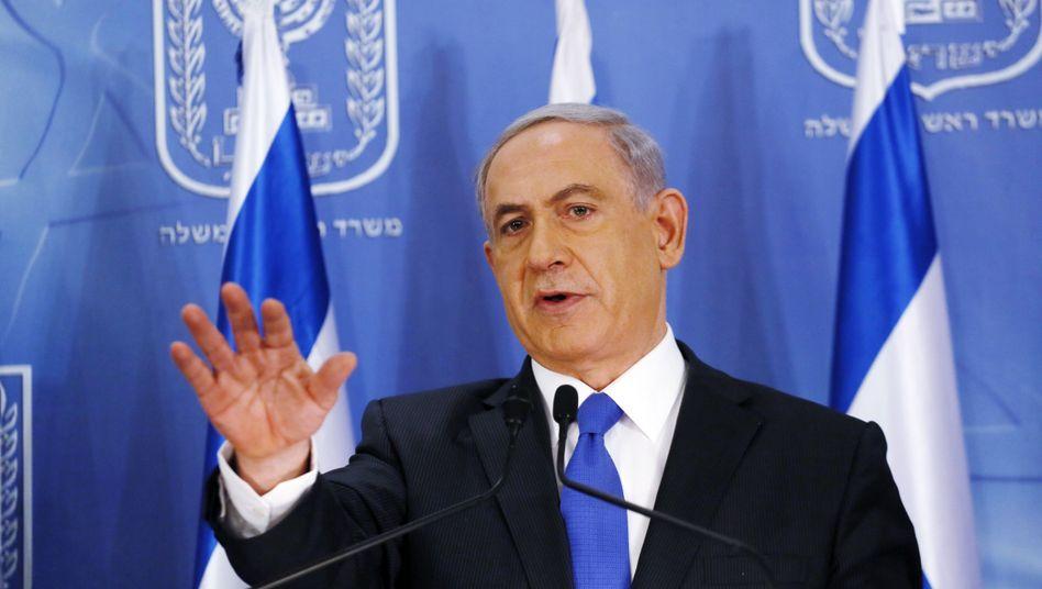 Israels Premier Netanjahu: Feuerkraft und Artillerie im Gazastreifen