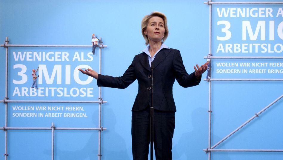 """Ursula von der Leyen: """"Ein Erfolg für die Regierung Merkel"""""""