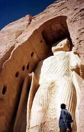 Sie war einmal: Buddha-Statue in Bamiyan