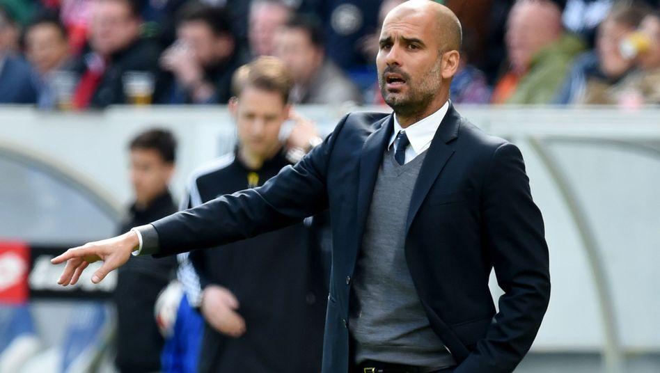 Bayern-Trainer Guardiola: Diskussion um die Zukunft