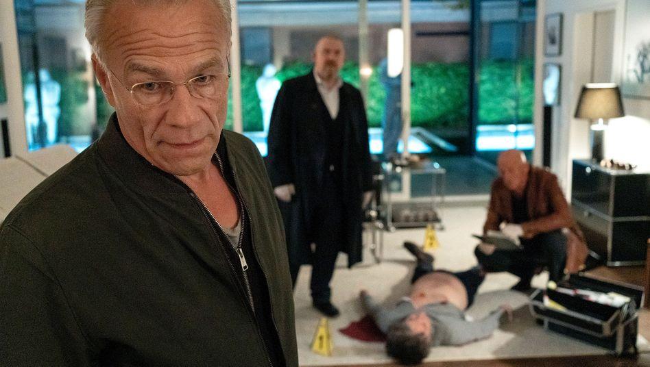 """Selber wahnsinnig? Ballauf (Klaus J. Behrendt) am """"Tatort"""""""