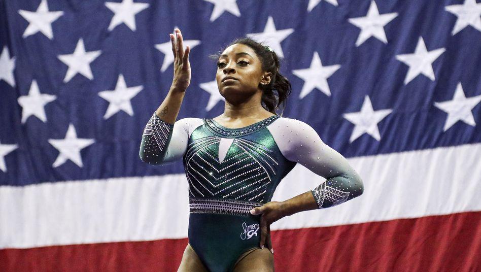 """US-Turnstar Simone Biles klagt an: """"Ihr hattet nur eine Aufgabe - und ihr habt uns nicht beschützt"""""""